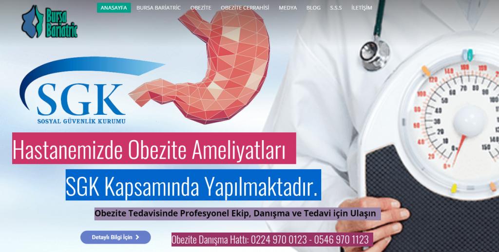 TÜP MİDE Mide Küçültme Ameliyatı Yapan Hastaneler Bursa