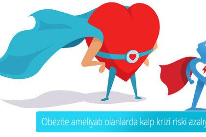 Obezite ameliyatı olanlarda kalp krizi riski azalıyor